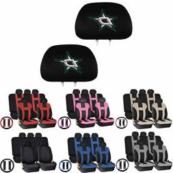 14PIECE Universal-fit Car SUV Seat Covers Steering Set for N