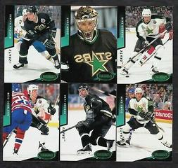 1993/94 Dallas Stars Parkhurst Emerald Ice Parallel Team Set