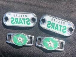 2 dallas stars nhl paracord charms oval
