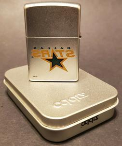 2002 Zippo Lighter - NHL Dallas Stars - New In Box