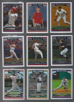 2006 TOPPS CHROME MLB - BASE or REFRACTOR    - WHO DO YOU NE
