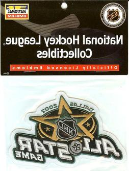 2007 NHL All Star Jersey Patch Dallas Stars Official Package