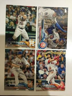 2018 TOPPS SERIES 2 #'S 351-700 COMPLETE YOUR SET ROOKIES,ST