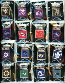 2019 NHL Stanley Cup Playoffs Banner Pins Choose Pin 16 team
