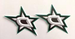 2x Dallas Stars Car Bumper Laptop Window Wall Macbook Vinyl