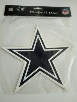 "Dallas Cowboy's Star Car Magnet by Forever Collectibles 6"" F"