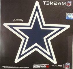 "Dallas Cowboys SD STAR LOGO Design 12"" Magnet Heavy Duty Aut"