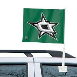 """WinCraft Dallas Stars 11"""" x 13"""" Two-Sided Car Flag"""
