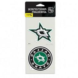 "Dallas Stars 2 Pack 4""x4"" Auto Decals  NHL Car Emblem Sticke"