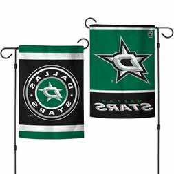 Dallas Stars 2 Sided Double Sided Garden Flag OUTDOOR RATED