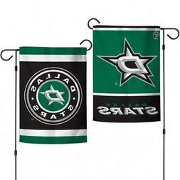 """Dallas Stars 2 Sided Garden Flag 12.5"""" x 18""""  NHL Fan Yard O"""