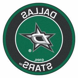 """Dallas Stars 27"""" Roundel Area Rug Floor Mat"""