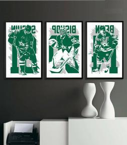 DALLAS STARS art print/poster FAN PACK #2 3 PRINTS! JAMIE BE