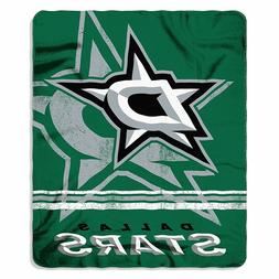 DALLAS STARS BLANKET FLEECE THROW NHL FADE AWAY DESIGN SERIE