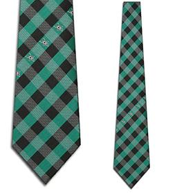 Eagles Wings Dallas Stars Checked Tie