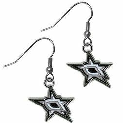 Dallas Stars Dangle Earrings  NHL Licensed Hockey Jewelry