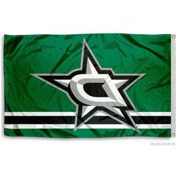 DALLAS STARS FLAG 3'X5' NHL LOGO BANNER: FAST FREE SHIPPING