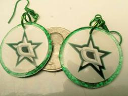 Dallas Stars handmade earrings