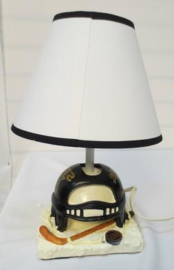 DALLAS STARS HELMET TABLE LAMP NHL COLLECTABLE 11.75 X 8 HAN