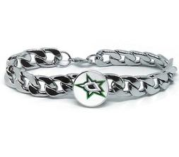 Dallas Stars Hockey Gift Men's Women's Stainless Steel Brace