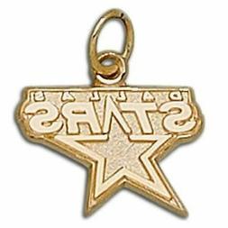 Dallas Stars Logo 10 kt Gold Pendant