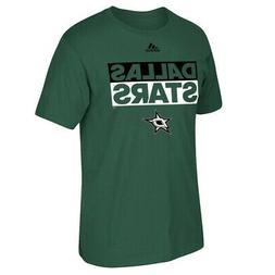 Dallas Stars NHL Adidas Adi Box  Men's Green T-Shirt