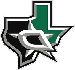 Dallas Stars NHL Color Die Cut Vinyl Decal Sticker - New Cho