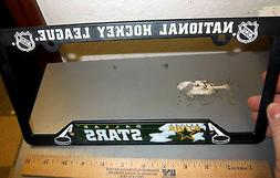 Dallas Stars NHL hockey team Plastic License Plate Frame, ma