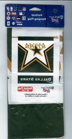 Dallas STARS NHL Hockey Vertical Banner Flag by Wincraft