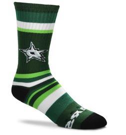 Dallas Stars NHL Rainbow Stripe Crew Socks FBF