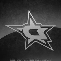 """Dallas Stars NHL Vinyl Decal Sticker - 4"""" and Larger - 30+ C"""