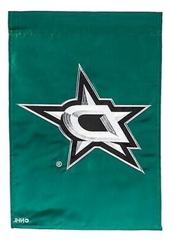 Dallas Stars Premium Garden Flag Applique Embroidered Outdoo