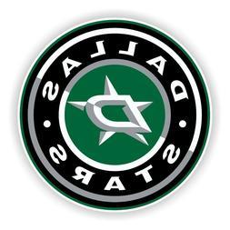 Dallas Stars Round  Precision Cut Decal / Sticker