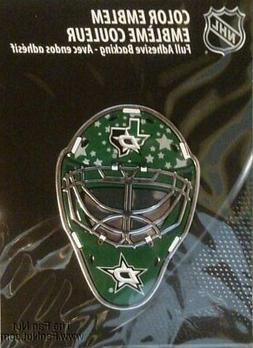Dallas Stars Special Ed MASK Raised Color Chrome Auto Emblem
