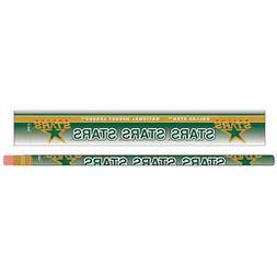 DALLAS STARS TEAM LOGO 6-PACK PENCILS BRAND NEW FREE SHIPPIN