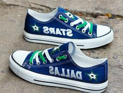 Dallas Stars Unisex Hockey Shoes NHL shoes Stars NHL sneaker
