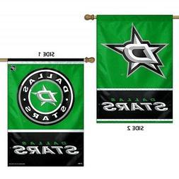 Dallas Stars WC Garden Flag Premium 2-Sided Outdoor House Ba