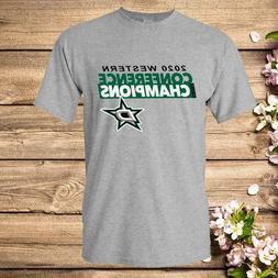 Dallas stars western conference finals T-Shirt  Regular Size
