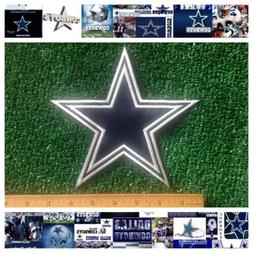 """Dallas Cowboys NFL Football Sew/Iron-on BIG 7X7"""" Official St"""