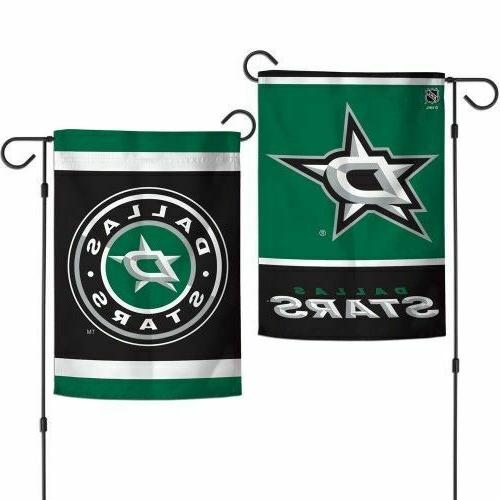 dallas stars 2 sided double sided garden