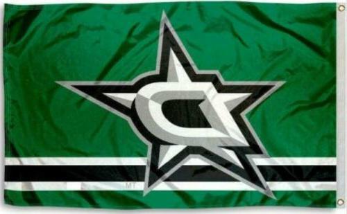 dallas stars 3x5 flag new 3 x