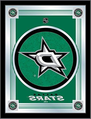Dallas Stars Holland Bar Stool Co. Collector Green Logo Mirr