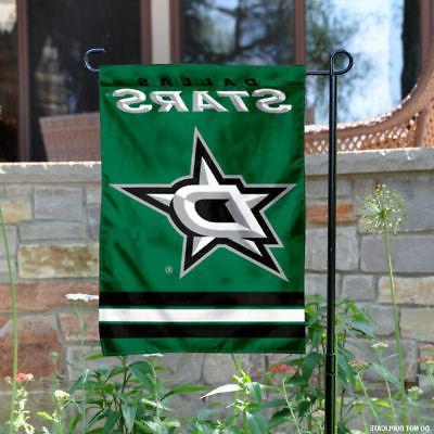 dallas stars garden flag yard