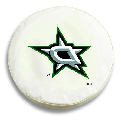 dallas stars hbs white vinyl fitted spare