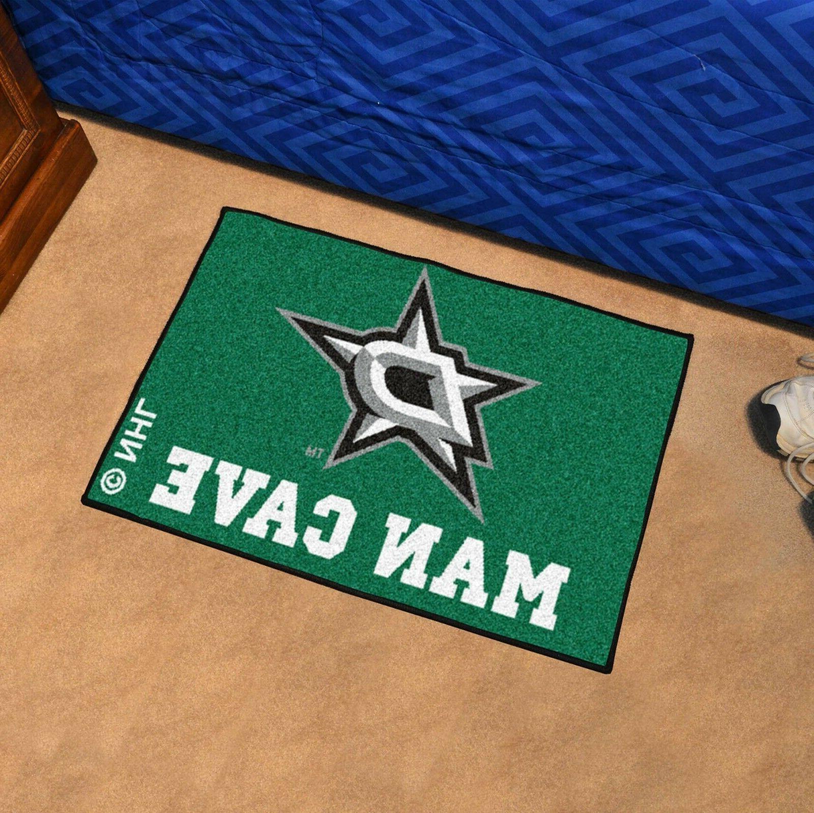 Dallas Stars NHL Man Cave Starter Floor Mat