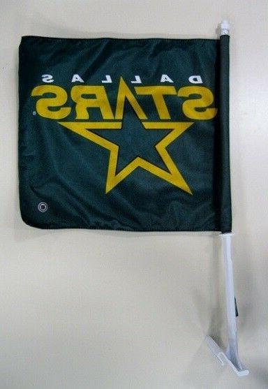 dallas stars nhl hockey car flag 11