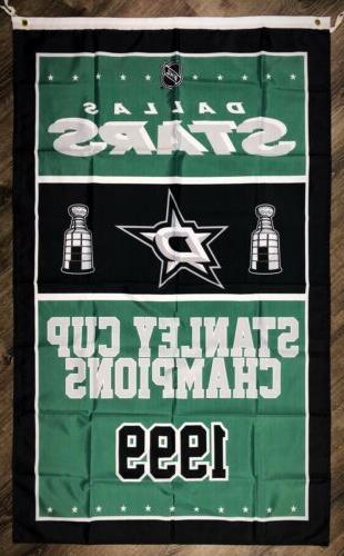 dallas stars nhl stanley cup championship flag