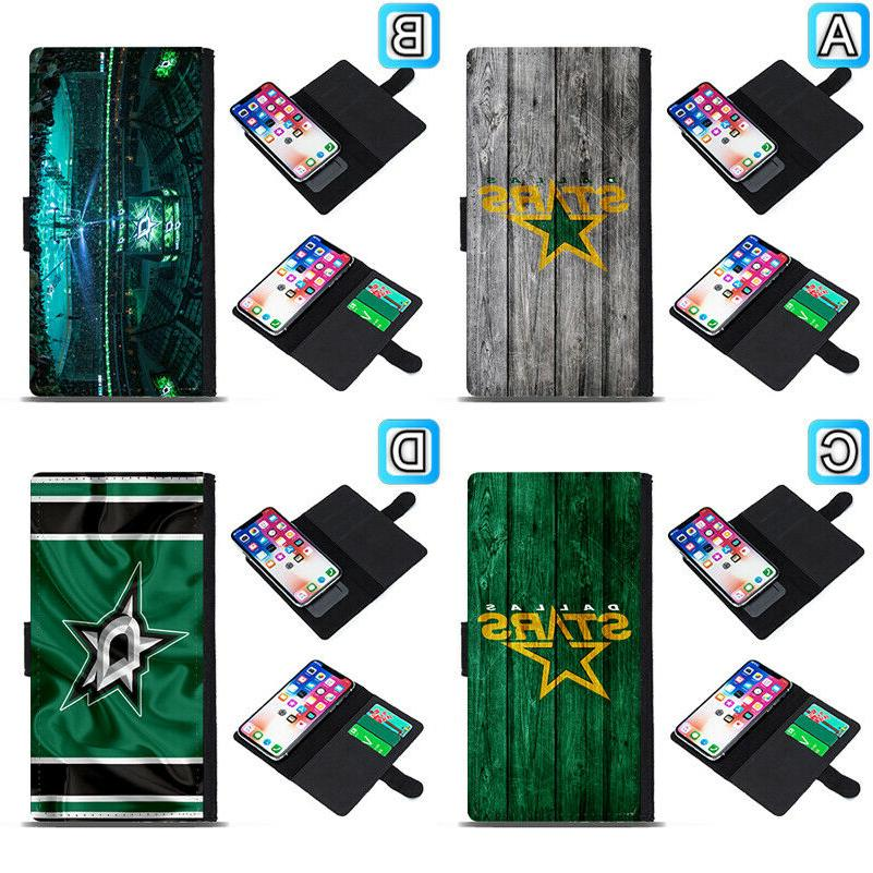 dallas stars sliding flip case for iphone