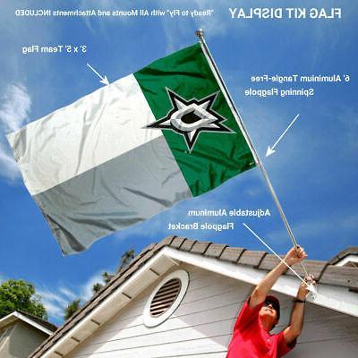 Dallas Stars State Flag Kit