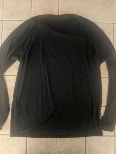 Men's Dallas Stars Black Dassler climalite Long Shirt